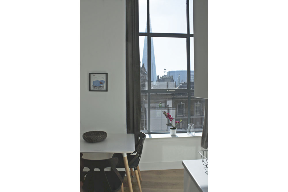 Shard View Apartments - Kitchen View