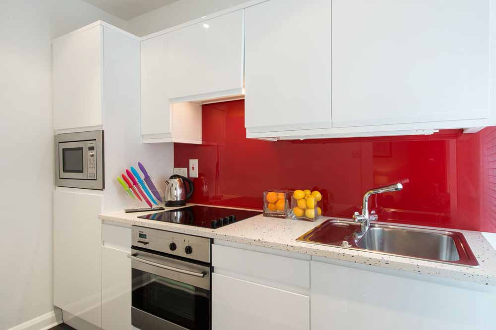 Senior Studio Apartment - Kitchen