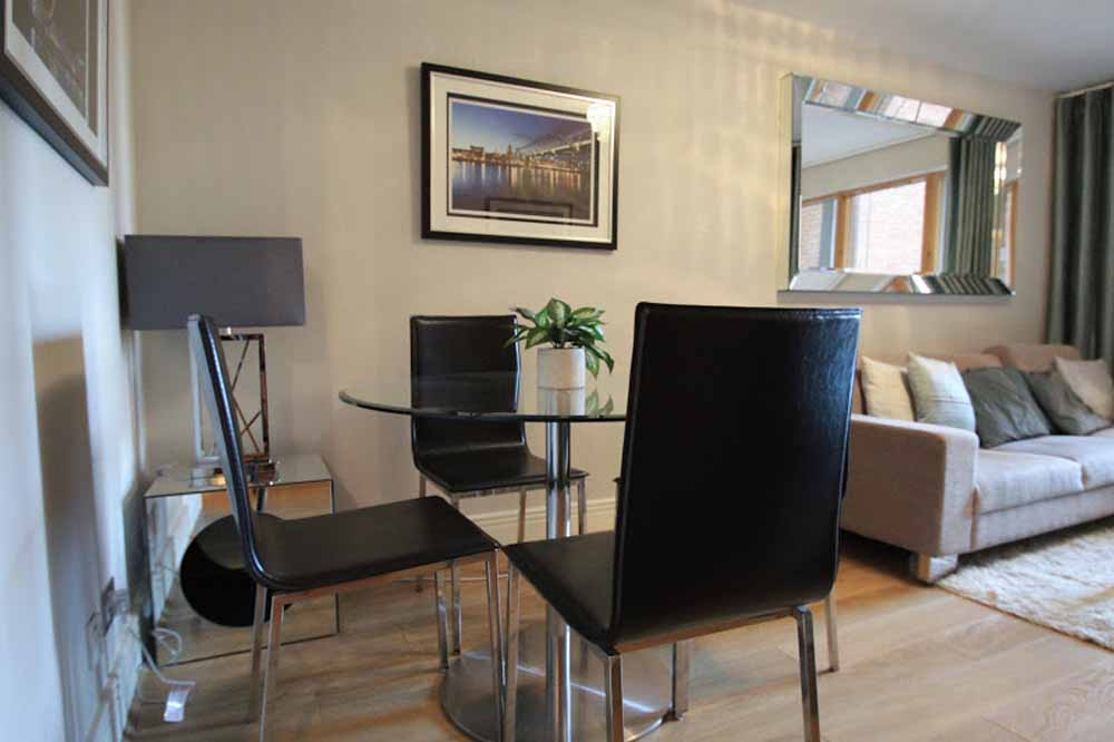 Two Bedroom Apartment - Dining Area