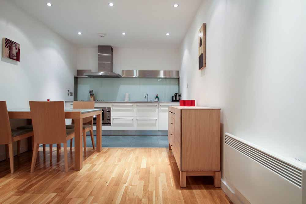 One Bedroom Apartment - Kitchen and Dining Area