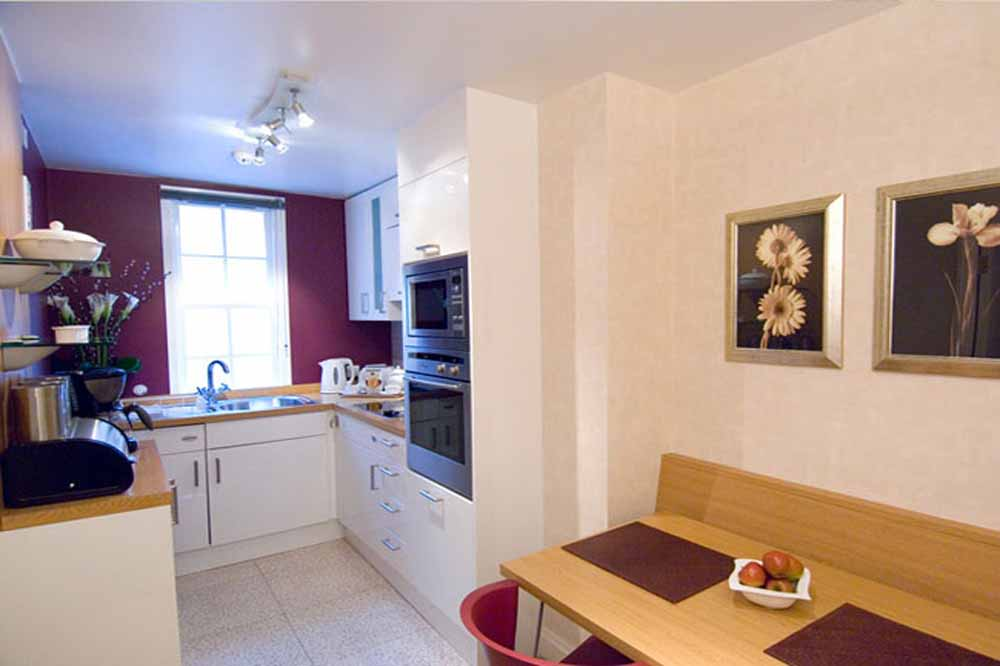 23 Greengarden House Apartments - Kitchen