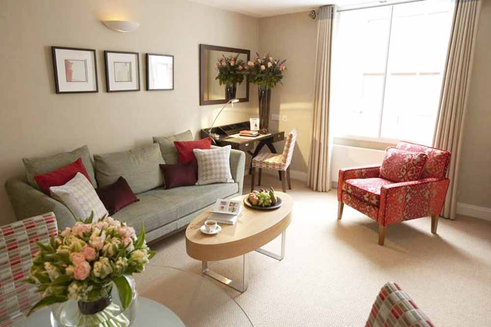 23 Greengarden House Apartments - Living Area