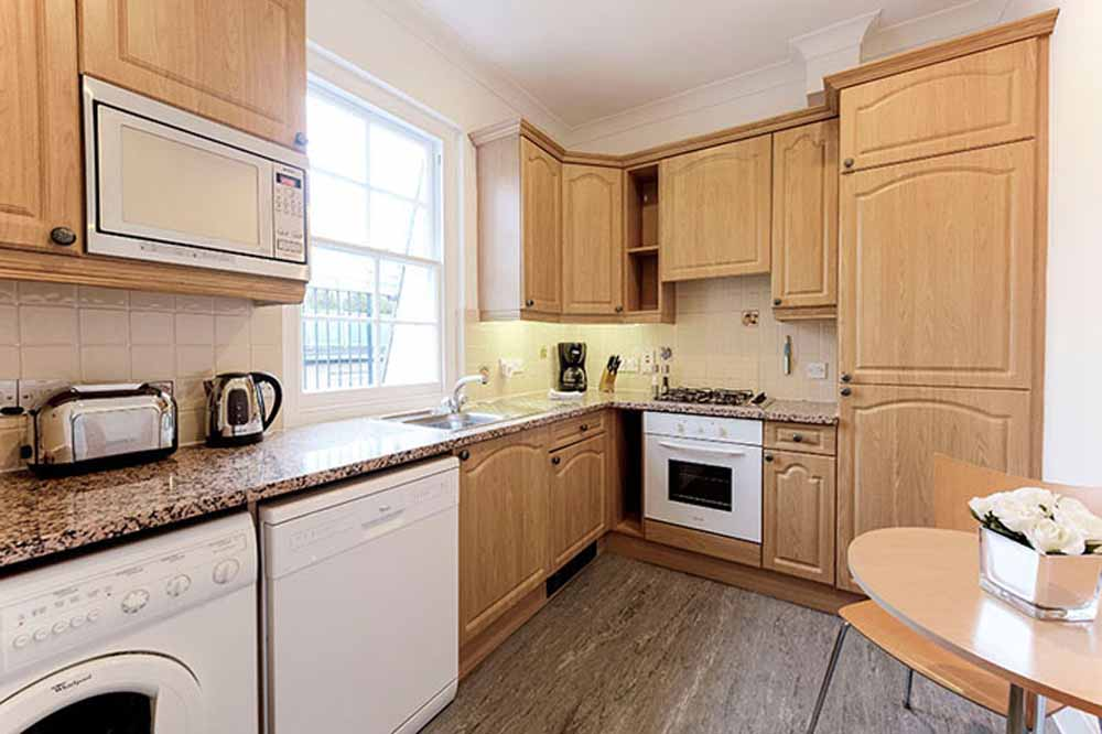 Small Two Bedroom Apartment - Kitchen