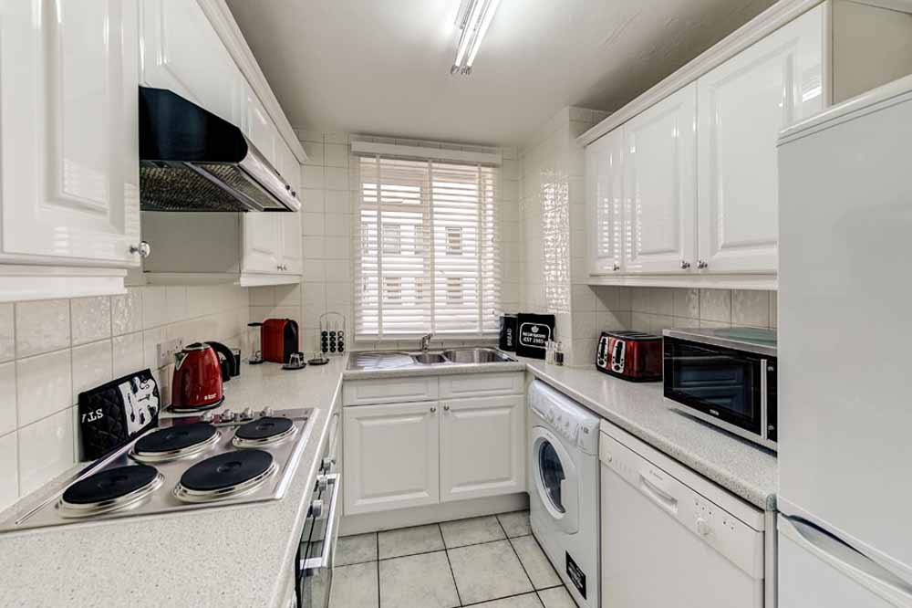 One and Two Bedroom Apartment - Kitchen
