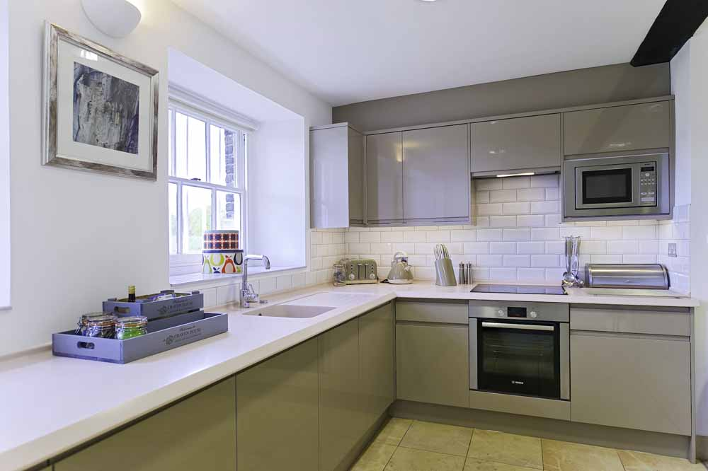 Lower Garden Suite Two Bedroom Apartment - Kitchen