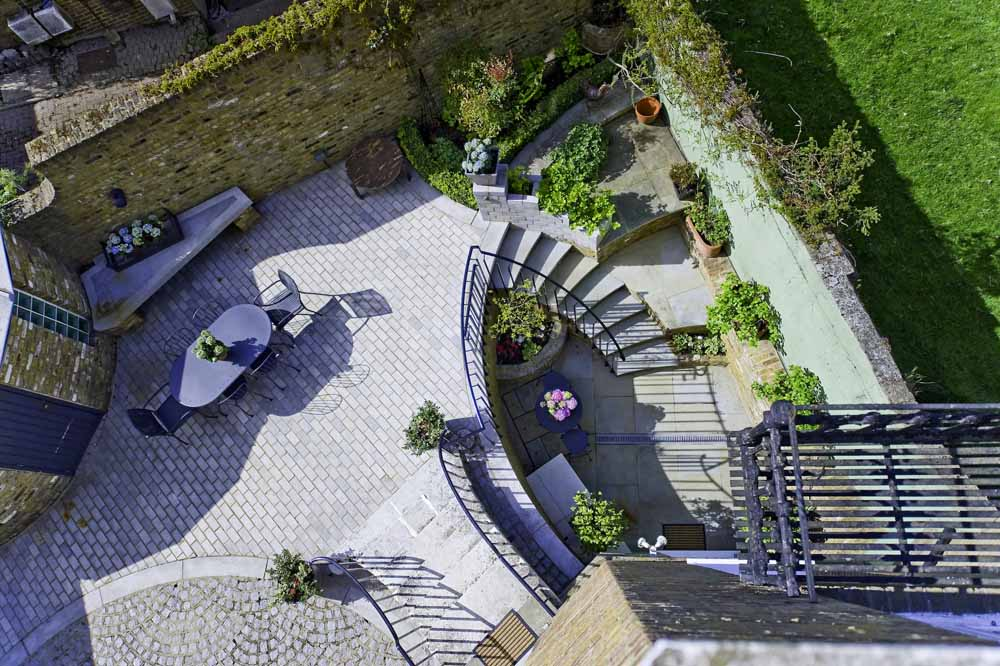Lower Garden Suite Two Bedroom Apartment - Courtyard Garden