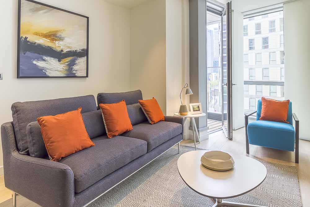 Charrington Tower Apartments - Living Area
