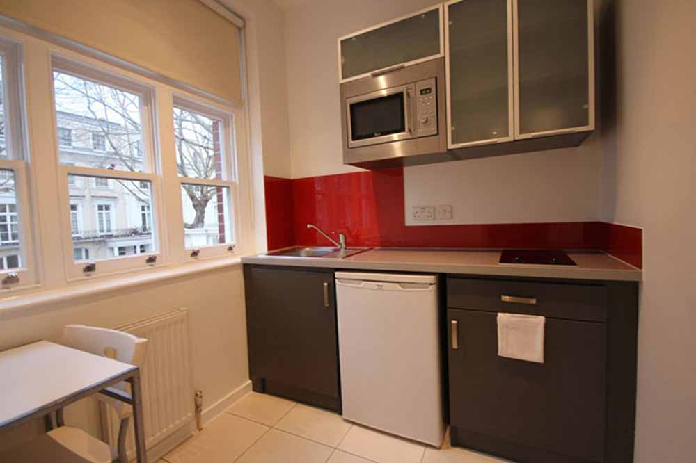Deluxe Studio Apartment - Kitchentte