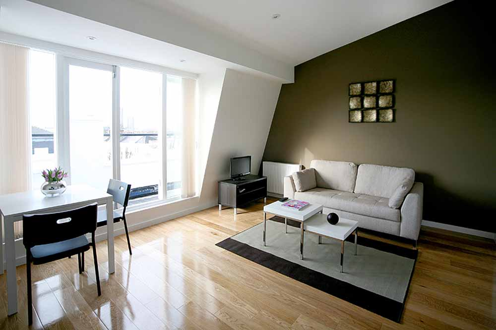 Double Studio Apartment - Living Area