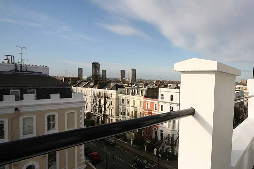 Notting Hill Studios - Balcony View