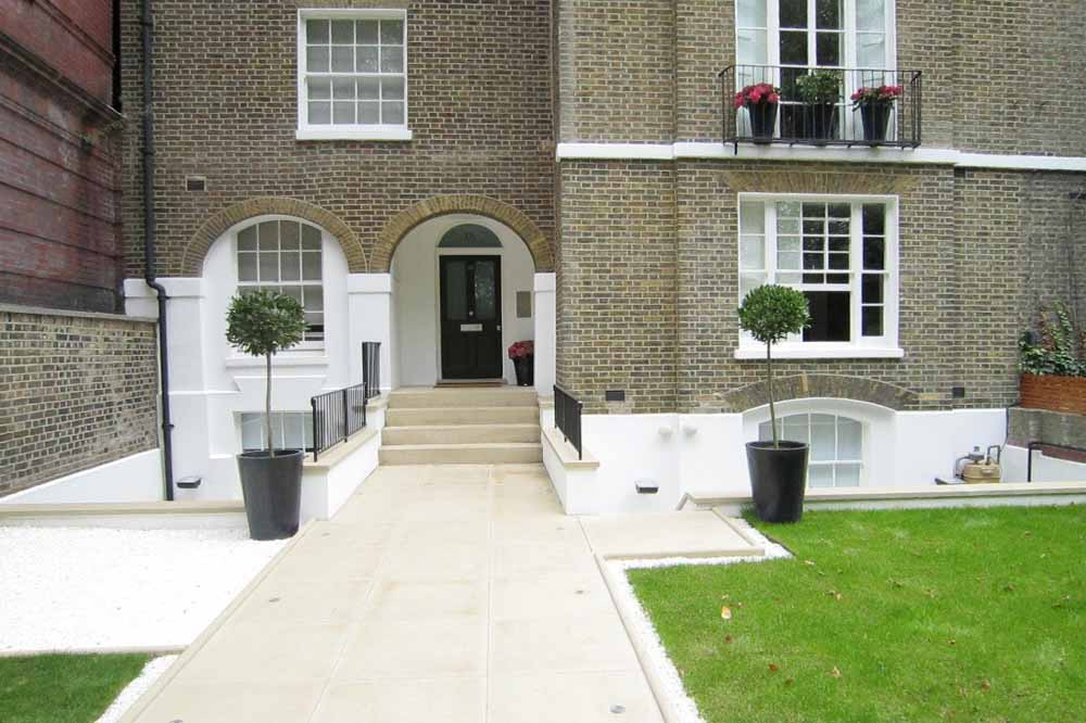 Paddington Green Apartments - Building Entrance