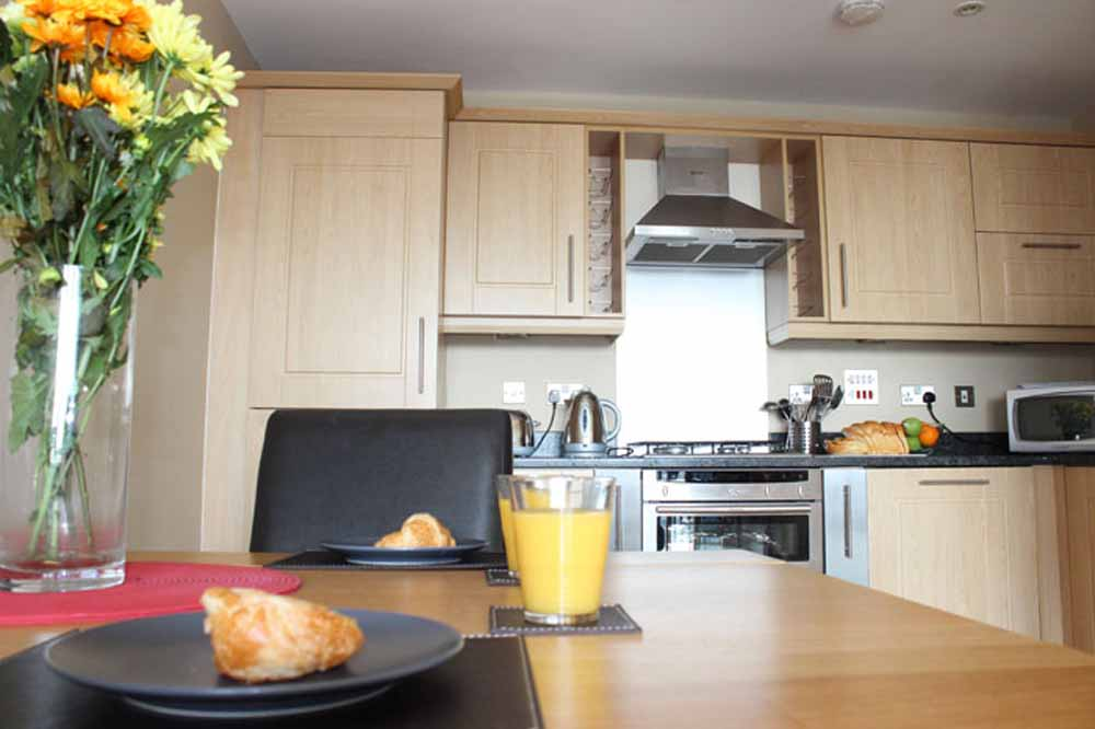Two Bedroom Apartment - Kitchen and Dining Area