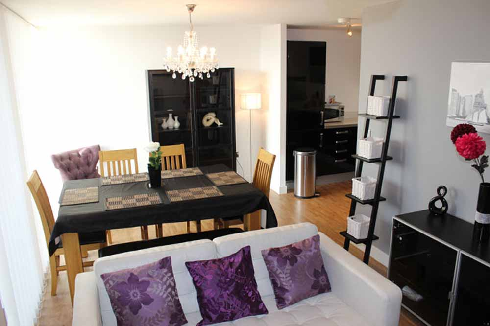 One Bedroom Penthouse Apartment - Dining Area