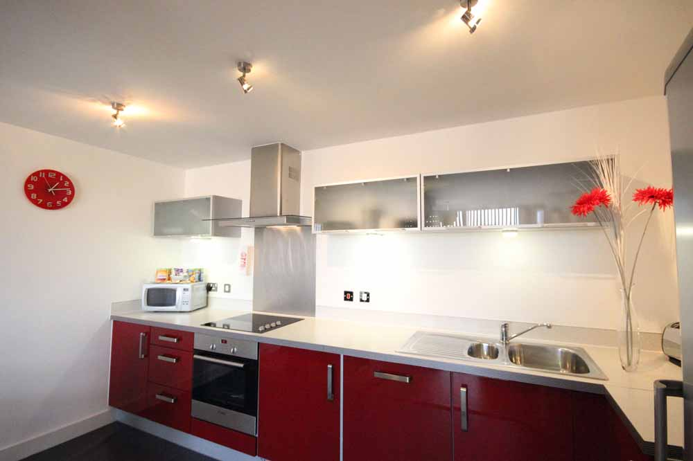 Two Bedroom Executive Apartment - Kitchen
