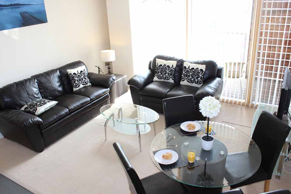 Two Bedroom Executive Apartment - Living and Dining Area