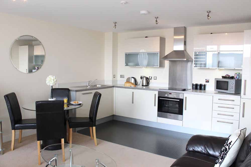 Two Bedroom Executive Apartment - Kitchen and Dining Area