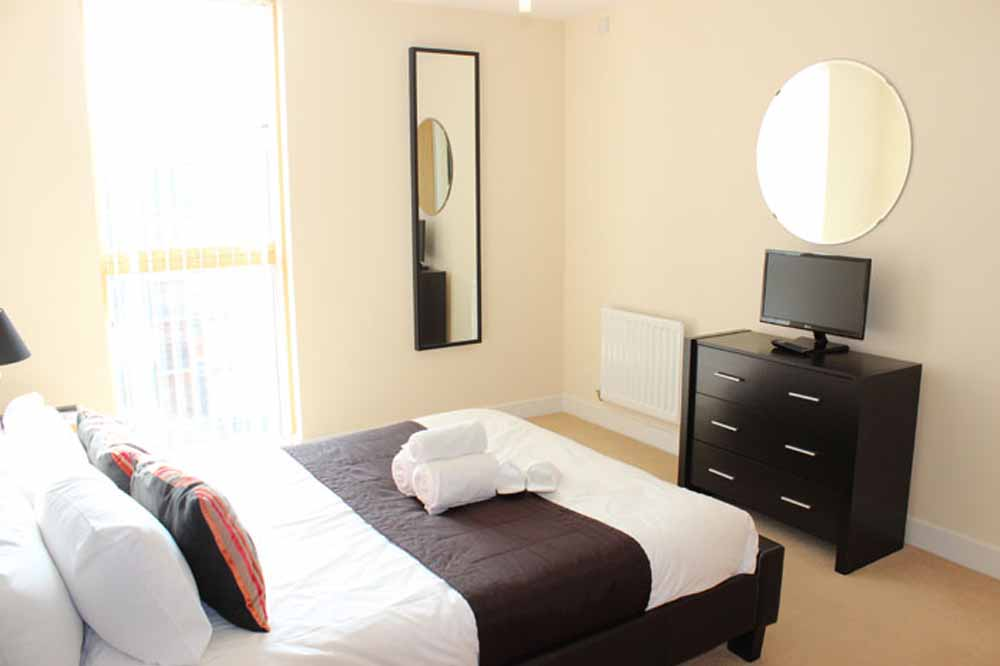 Two Bedroom Executive Apartment - Bedroom