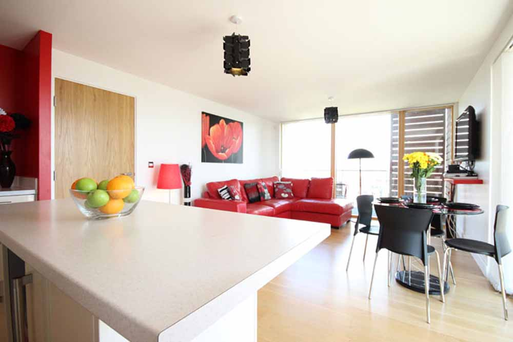 Two Bedroom Superior Apartment - Living and Dining Area