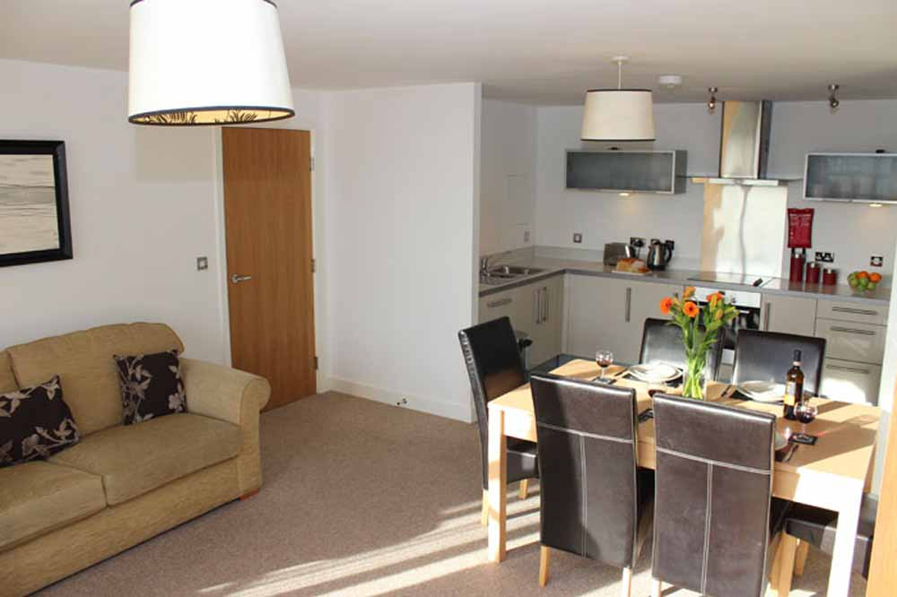 Three Bedroom Executive Apartment - Dining Area