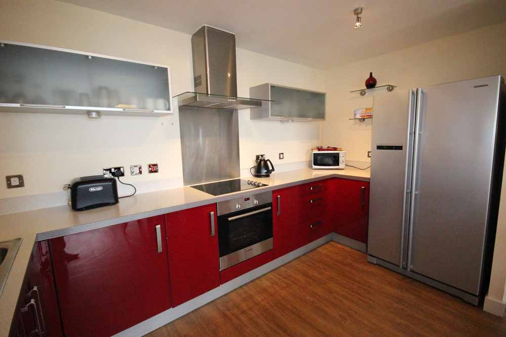 Three Bedroom Penthouse Apartment - Kitchen