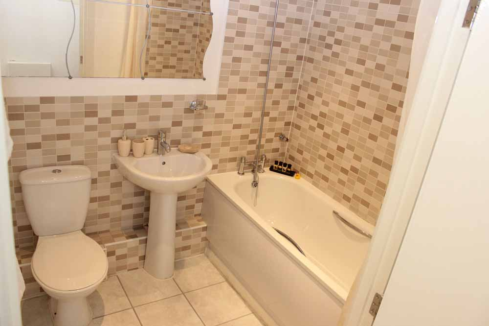 Two Bedroom Two Bathroom Apartment - Bathroom