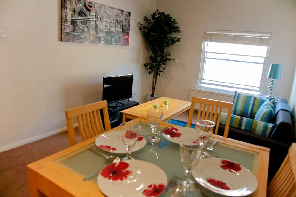 One Bedroom Apartment - B - Dining Area