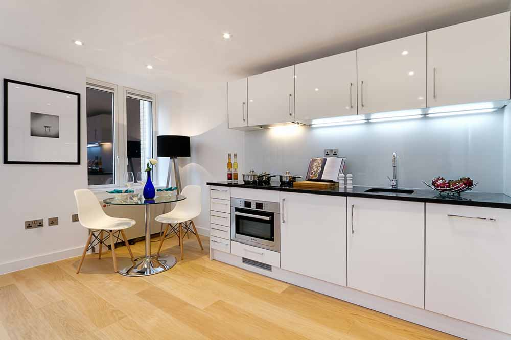 Fetter Lane Apartments - Kitchen and Dining  Area