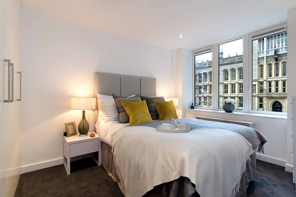 Fetter Lane Apartments - Bedroom