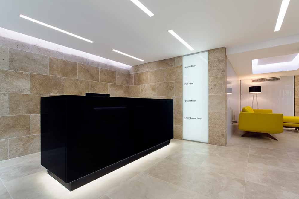 Fetter Lane Apartments - Reception and Lobby