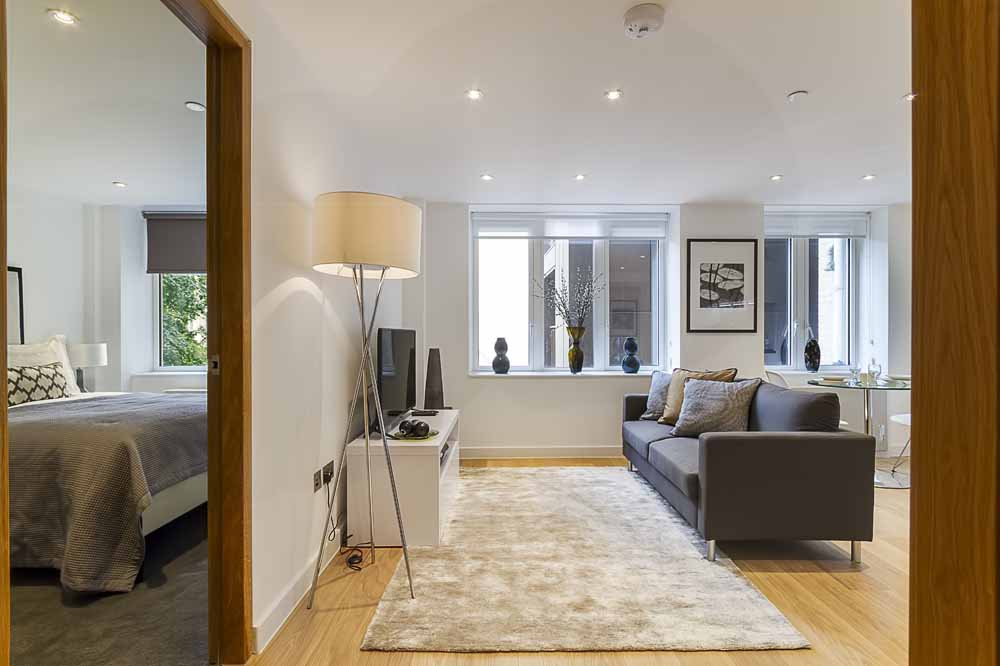 Fetter Lane Apartments - Living Area
