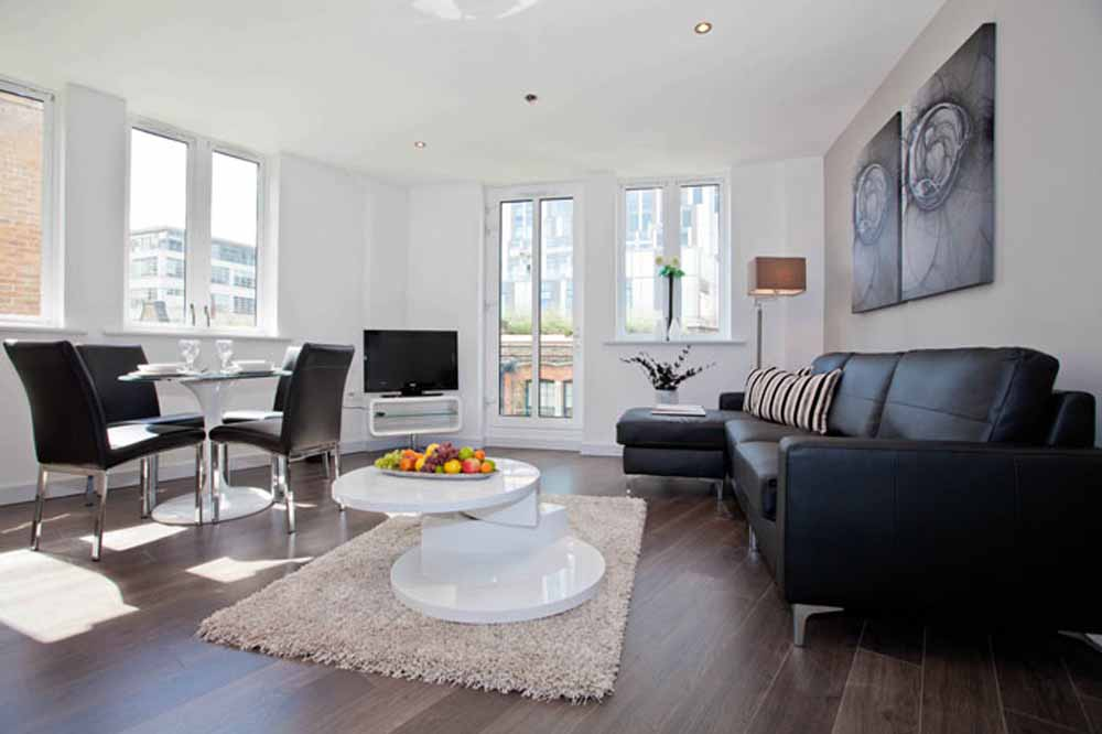 Whites Row Apartments - Living Area