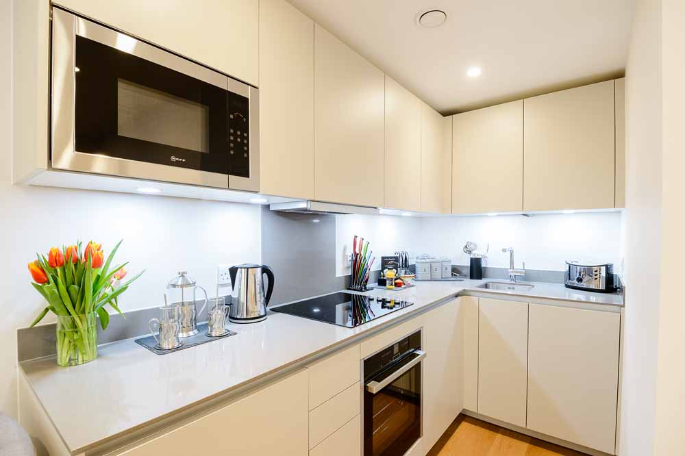 Boutique One Bedroom Apartment - Kitchen