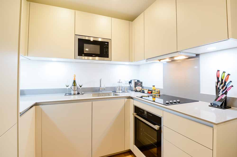 Two Bedroom Two Bathrooms Apartment - Kitchen