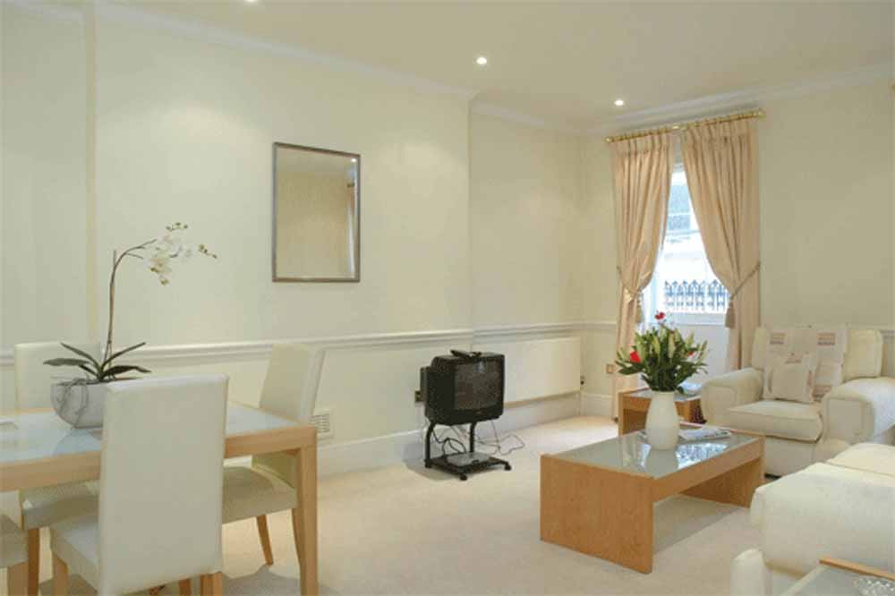 12 Hertford Street Apartments - Living and Dining Area