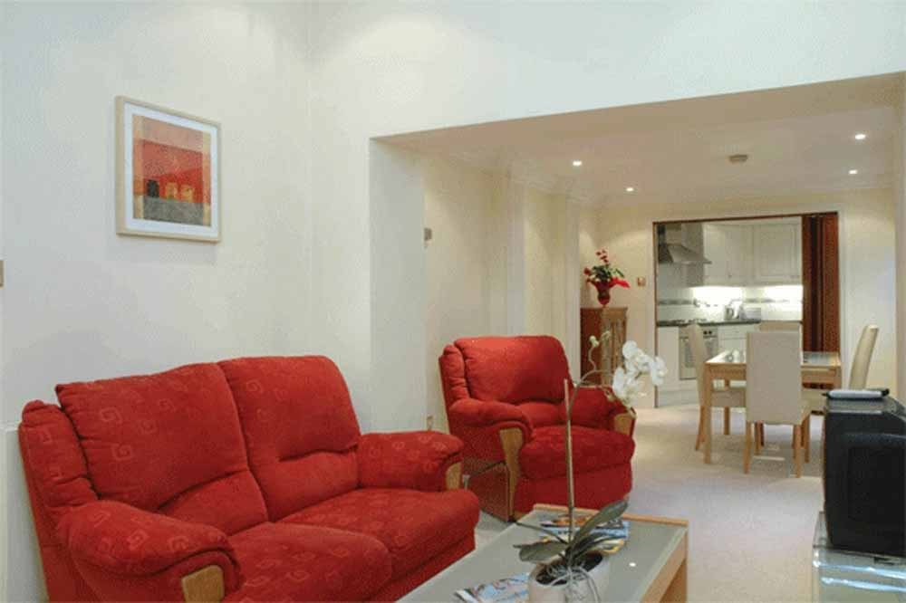 12 Hertford Street Apartments - Living Area