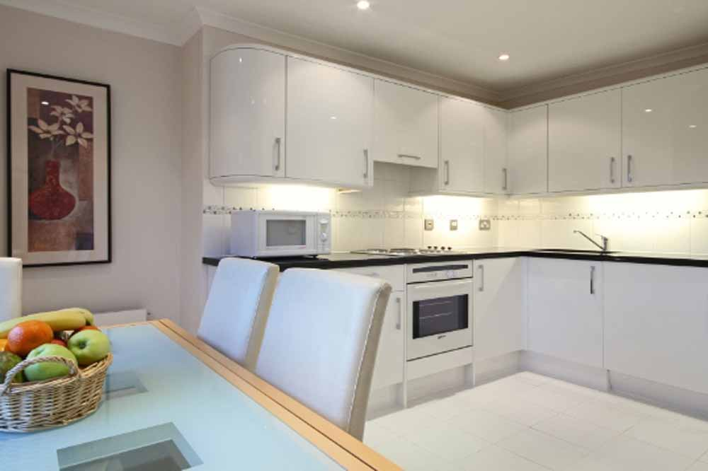 12 Hertford Street Apartments - Kitchen and Dining Area