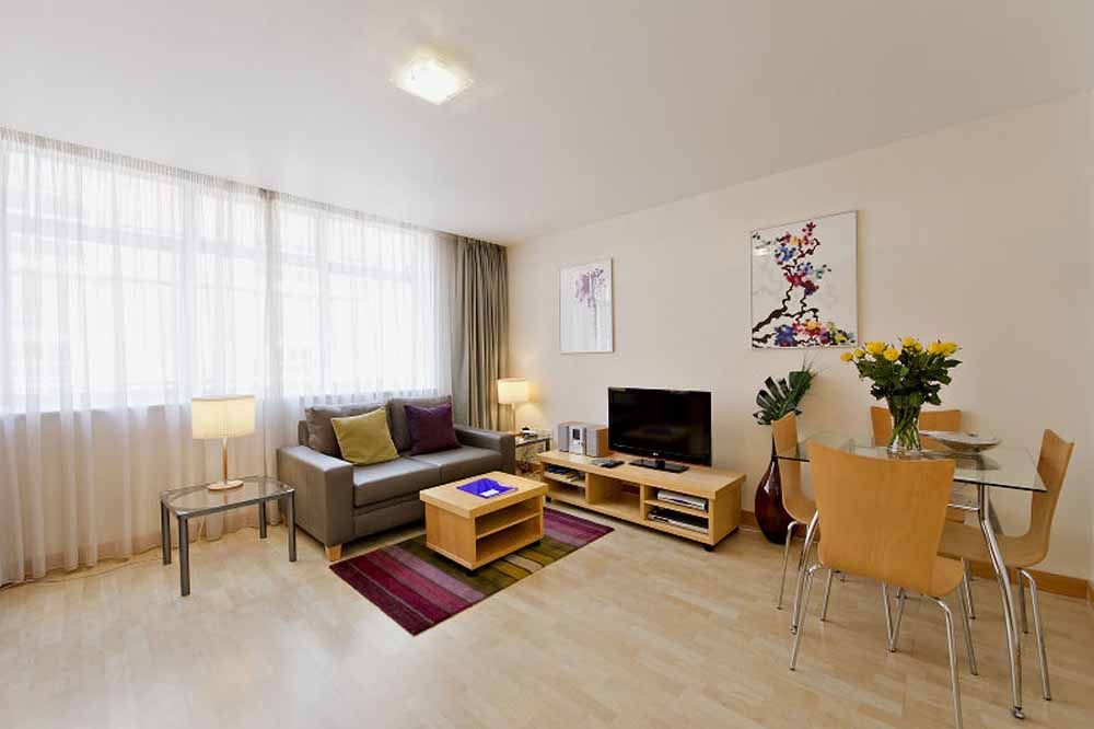 Premium Studio Apartment - Living and Dining Area