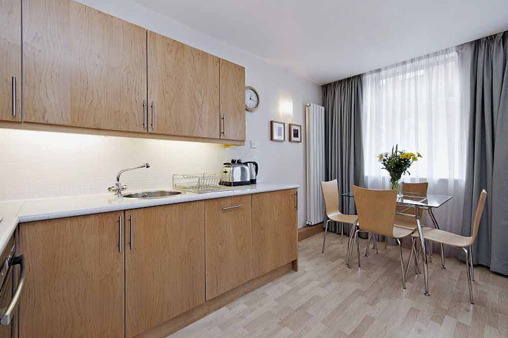 Premium One Bedroom Apartment - Kitchen and Dining Area