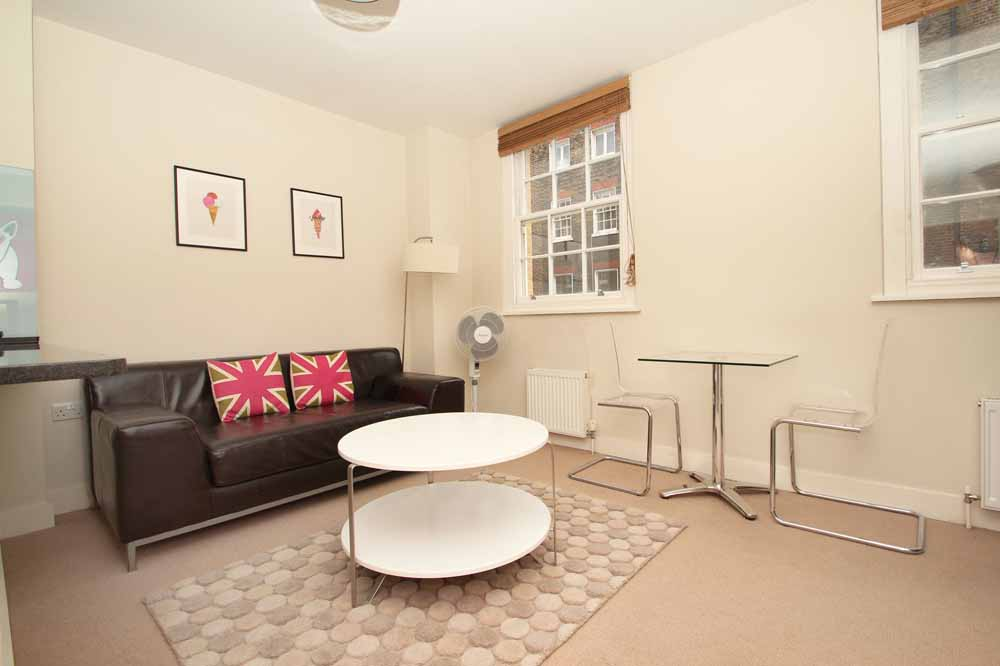 Premium One Bedroom Apartment - Living Area
