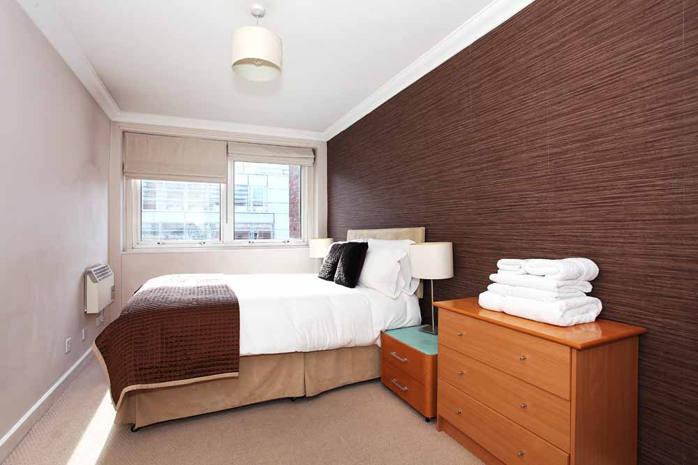 Standard One Bedroom Apartment - Bedroom