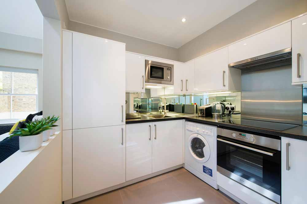 Executive Studio Apartment - Kitchen