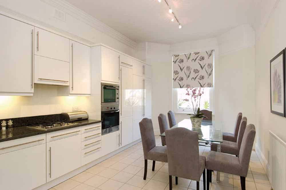 Four Bedroom Apartment - Kitchen and Dining Area