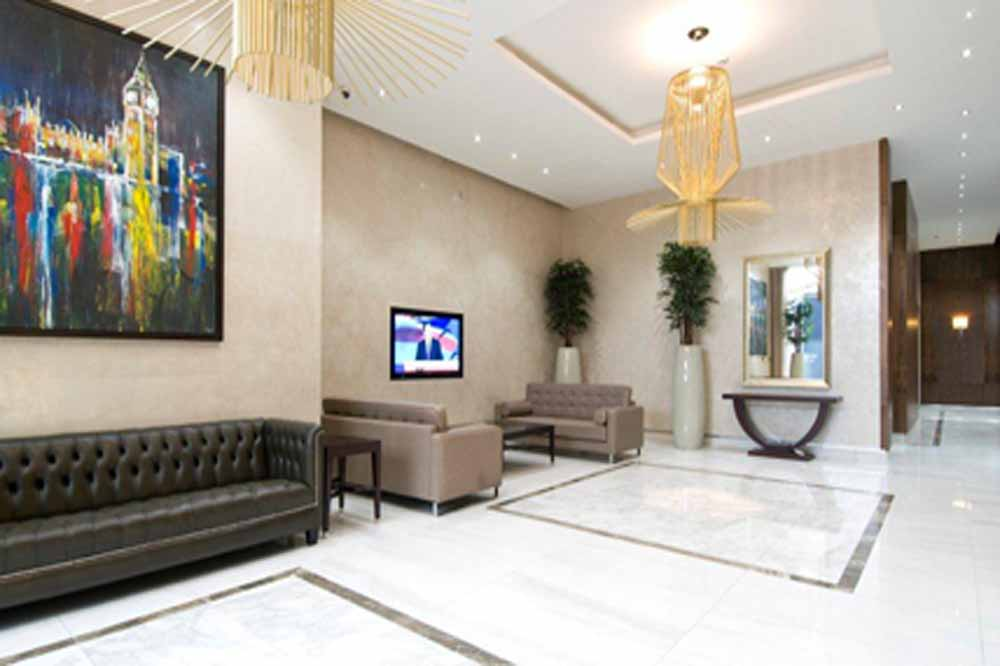 Dickens Yard Apartments - Lobby