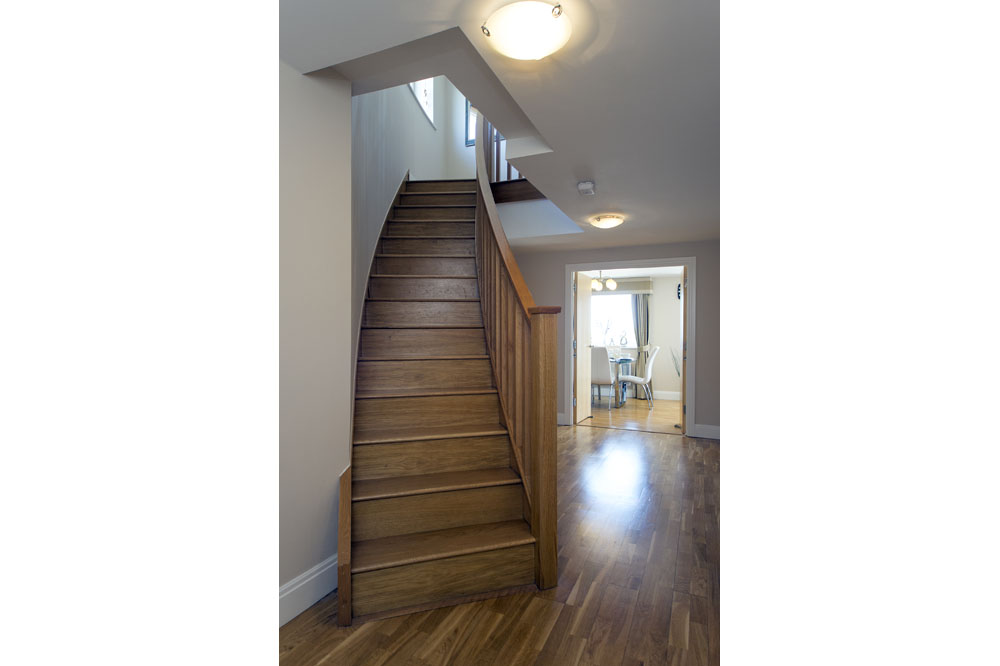 Three Bedroom Two Bathroom Apartment - Staircase
