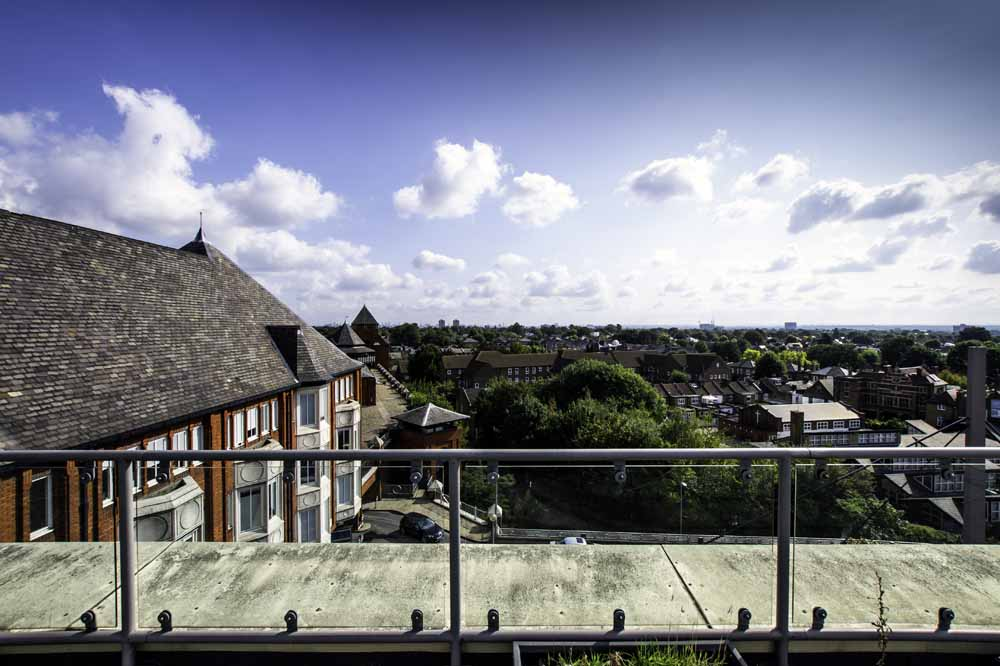 Two Bedroom Apartment - Communal Terrace View