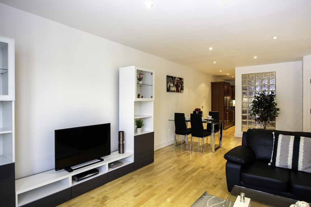 Two Bedroom Apartment - Living Area