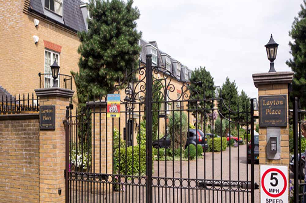Layton Place Apartments - Building Gate