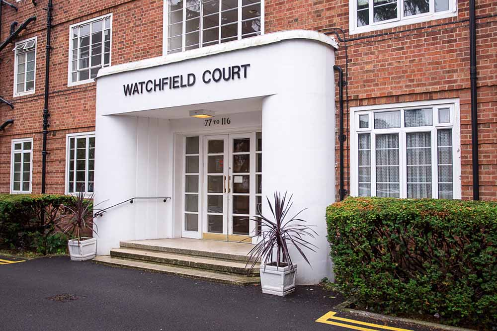 Watchfield Apartments - Building Entrance