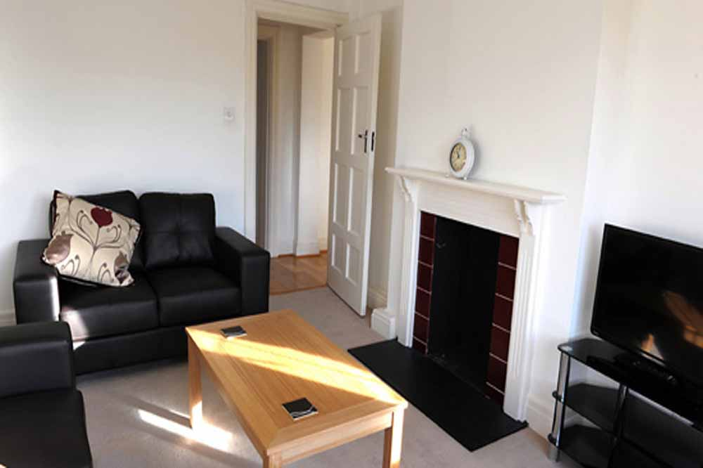 Three Bedroom Apartment - Living Area