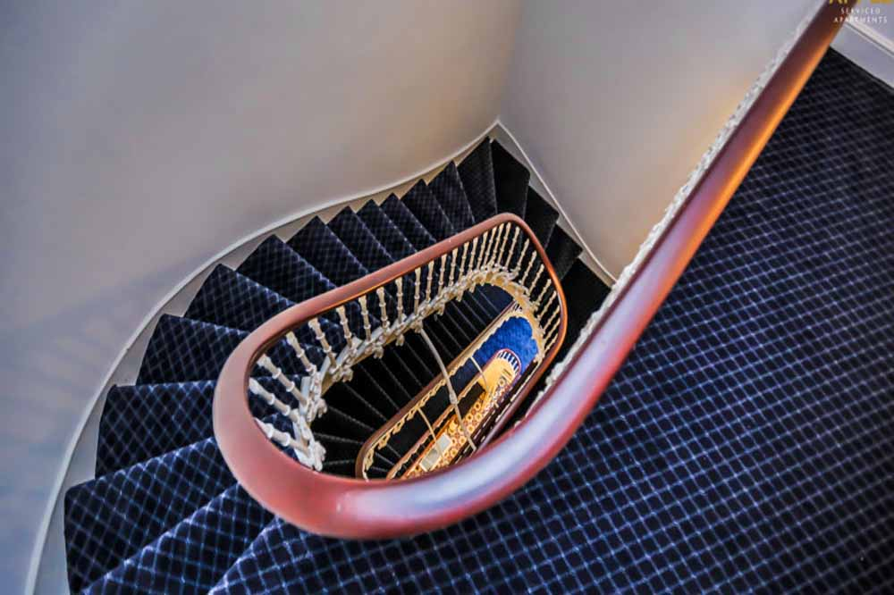 Hyde Park Gardens Apartments - Staircase